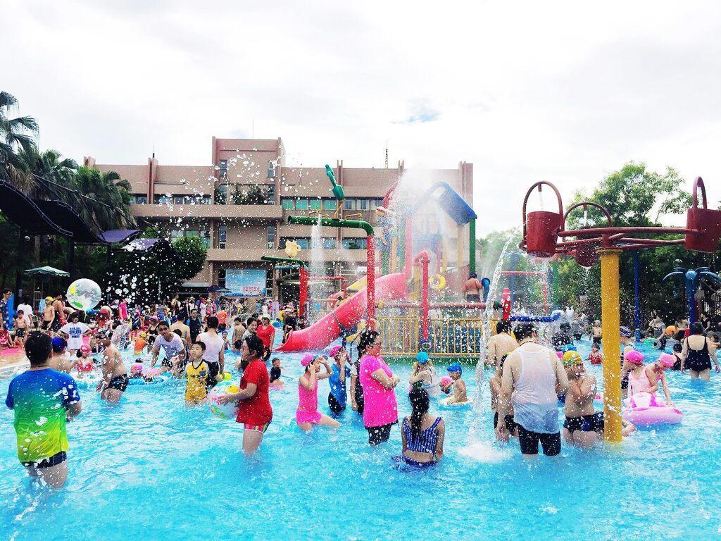 清涼消暑的水花、水瀑在夏日裡特別消暑。圖/摘自台北旅遊網