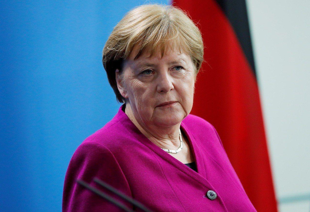 德國總理梅克爾。路透