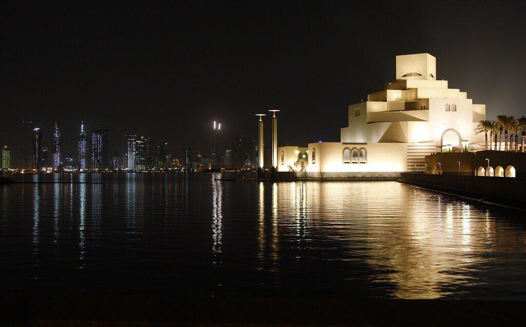 貝聿銘作品-2006年-2008年:卡達杜哈伊斯蘭藝術博物館。美聯社