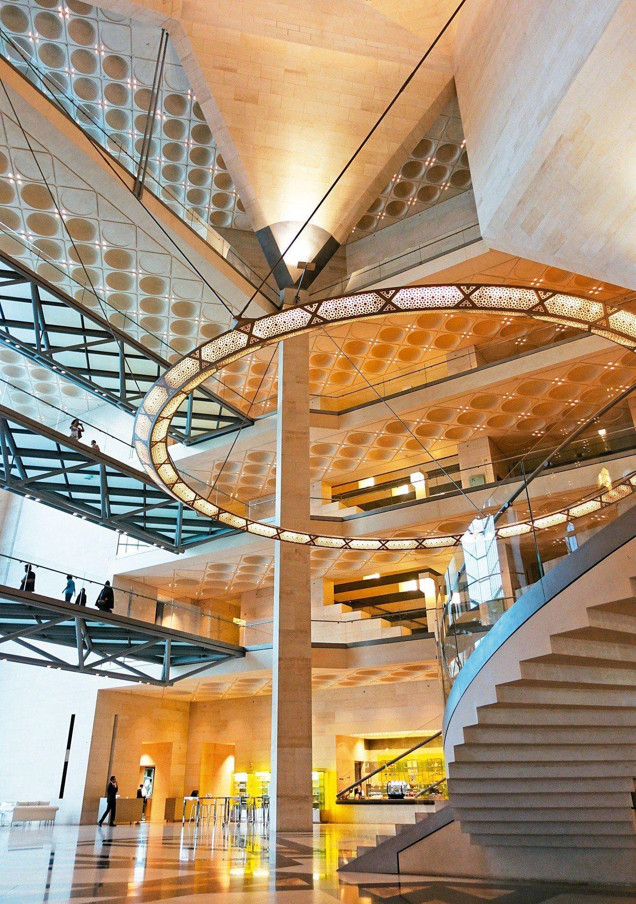 建築大師貝聿銘九十一歲的封刀之作──杜哈伊斯蘭藝術博物館,融合現代主義和伊斯蘭文...