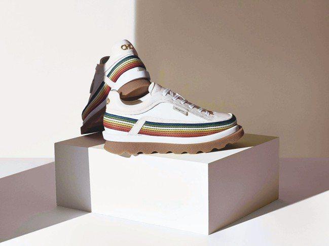 主打環保全新膠囊系列「42 Degree」包含一款男性運動鞋、女性運動鞋、背包和...