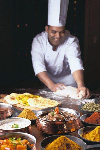 美福飯店彩匯自助餐「換新妝」推出多款印度美饌。 圖/美福飯店提供