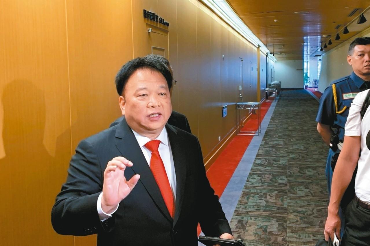 TPK董事長江朝瑞。 記者陳昱翔/攝影
