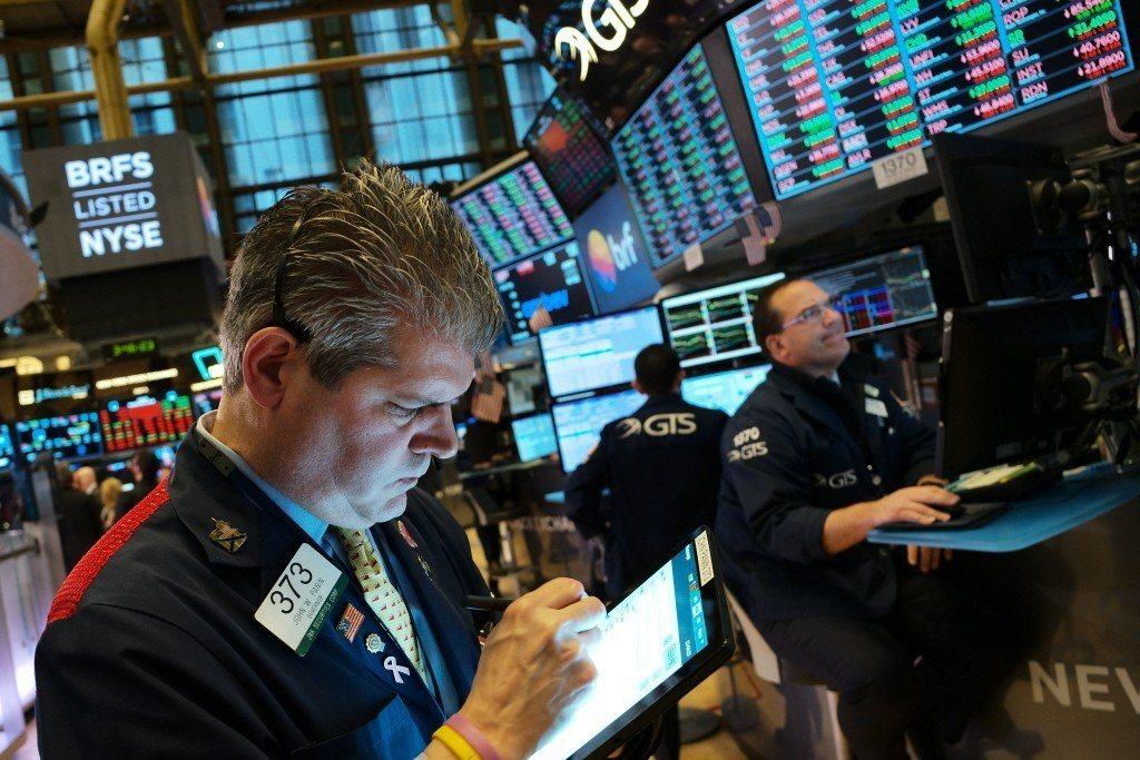 美股走強、經濟數據表現穩健,帶動殖利率走揚。美聯社