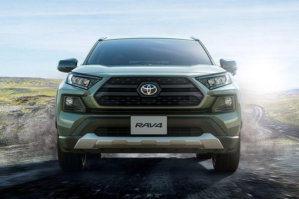新Toyota RAV4於4月重返日本市場銷售,1個月後的接單量已超過原廠目標8...