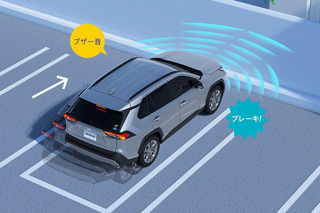 防止停車後因駕駛誤踩油門導致碰撞的ICS智能偵測聲納雷達,在日本有高達80%的新...