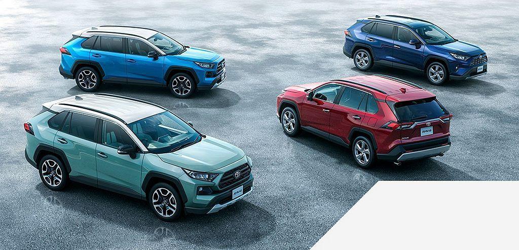 新Toyota RAV4日本推出1個月後已經接獲約24,000輛訂單,原定月銷售...