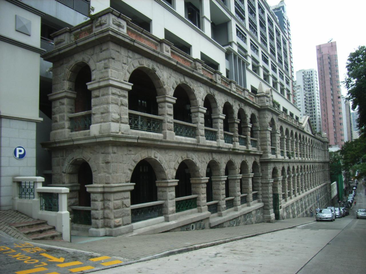 前身是精神病院的高街鬼屋,一直以來都被說是西環最「邪」的地方。圖擷自/維基百科