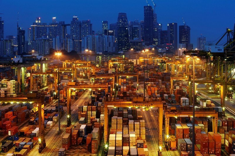 圖為新加坡港務集團。 圖/路透社