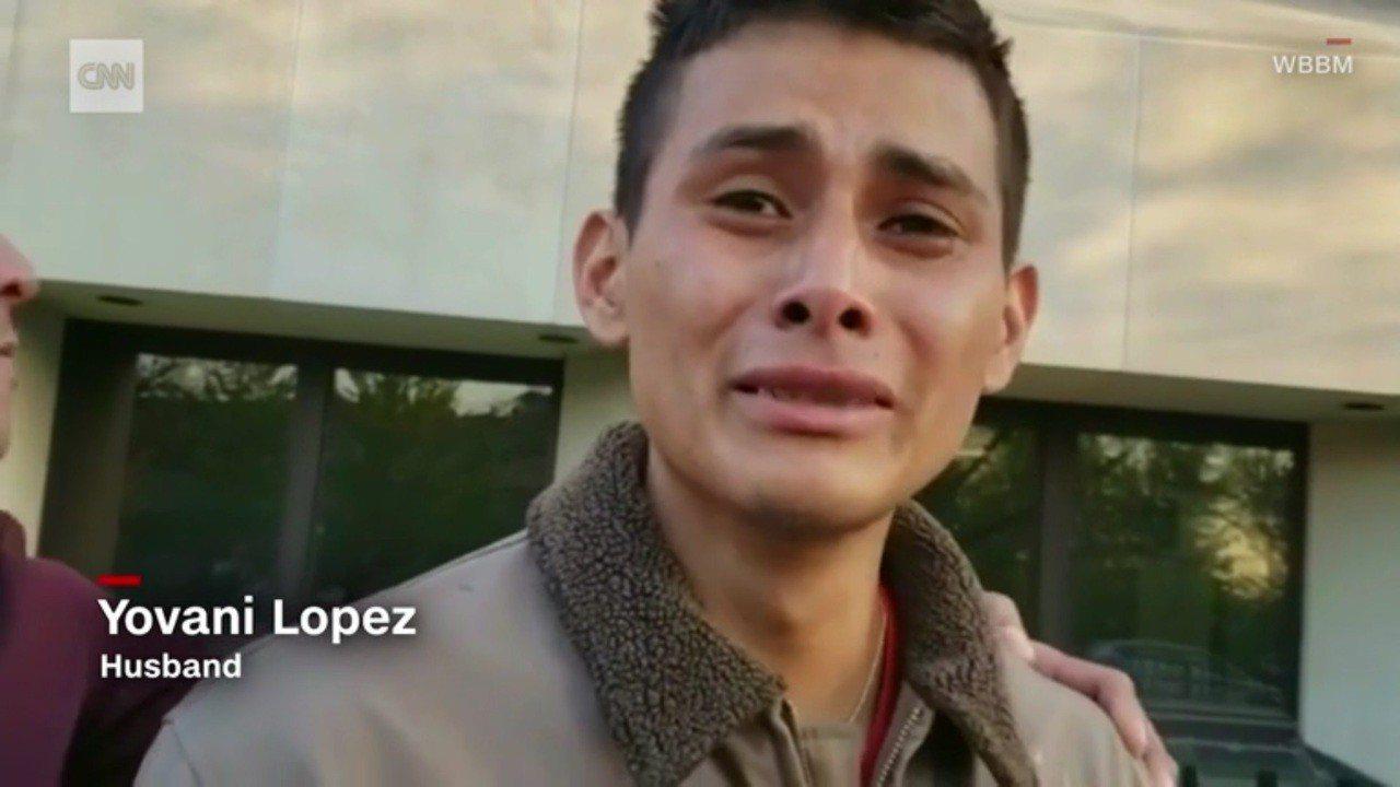 受害者丈夫約凡尼(Yiovanni Lopez)。圖擷自/CNN