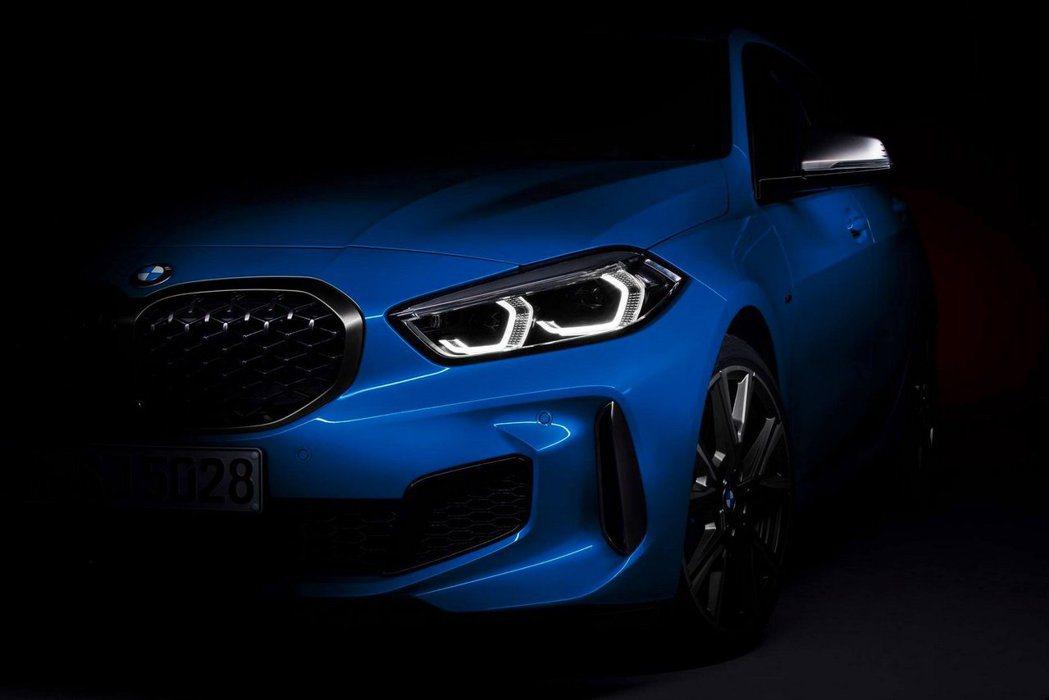 新世代BMW 1 Series先露出一小角跟大家見客了! 摘自BMW
