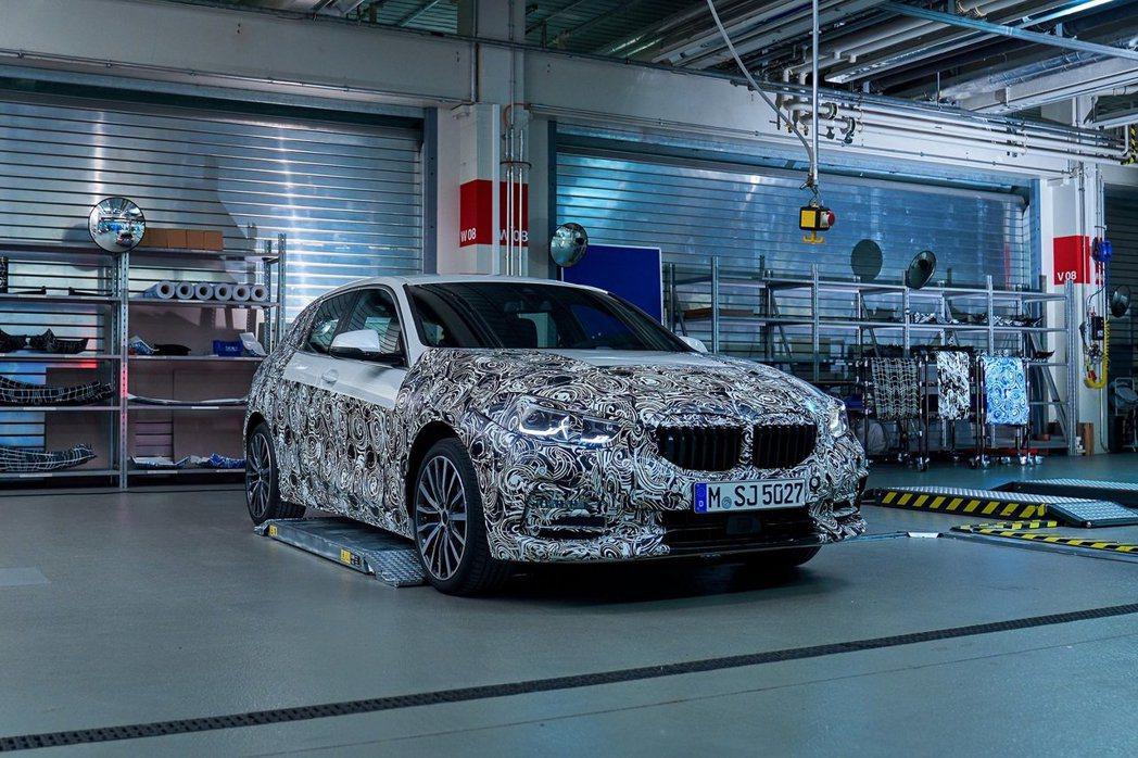 新世代BMW 1 Series首波性能打主為M135i xDirve。 摘自BM...
