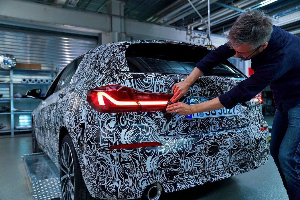 新世代BMW 1 Series年底前就會正式發售。 摘自BMW