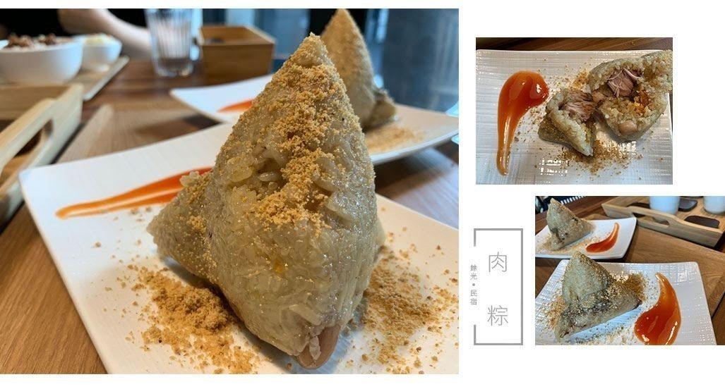 圖/台南知名美食「遠馨阿婆肉粽」不用添加任何醬料就很入味。網友2Y玩樂趣授權