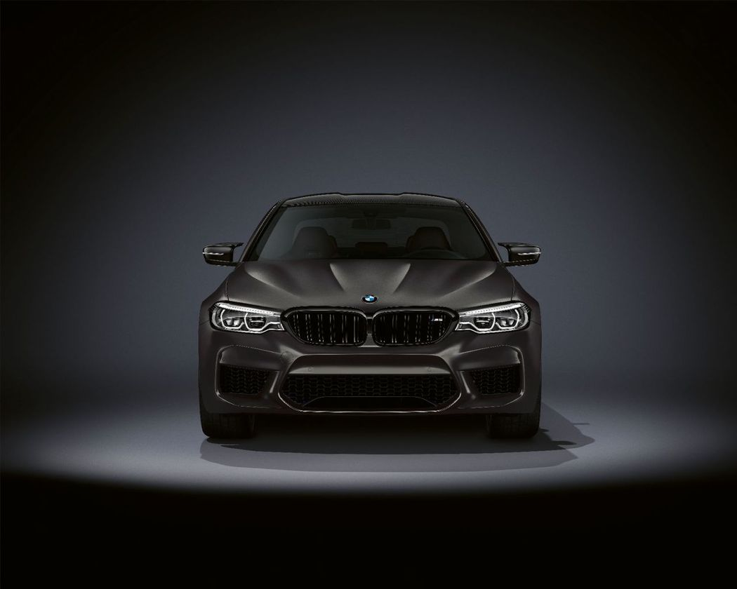 全球限量350輛的BMW M5 Edition 35 Years紀念版特仕車。 ...