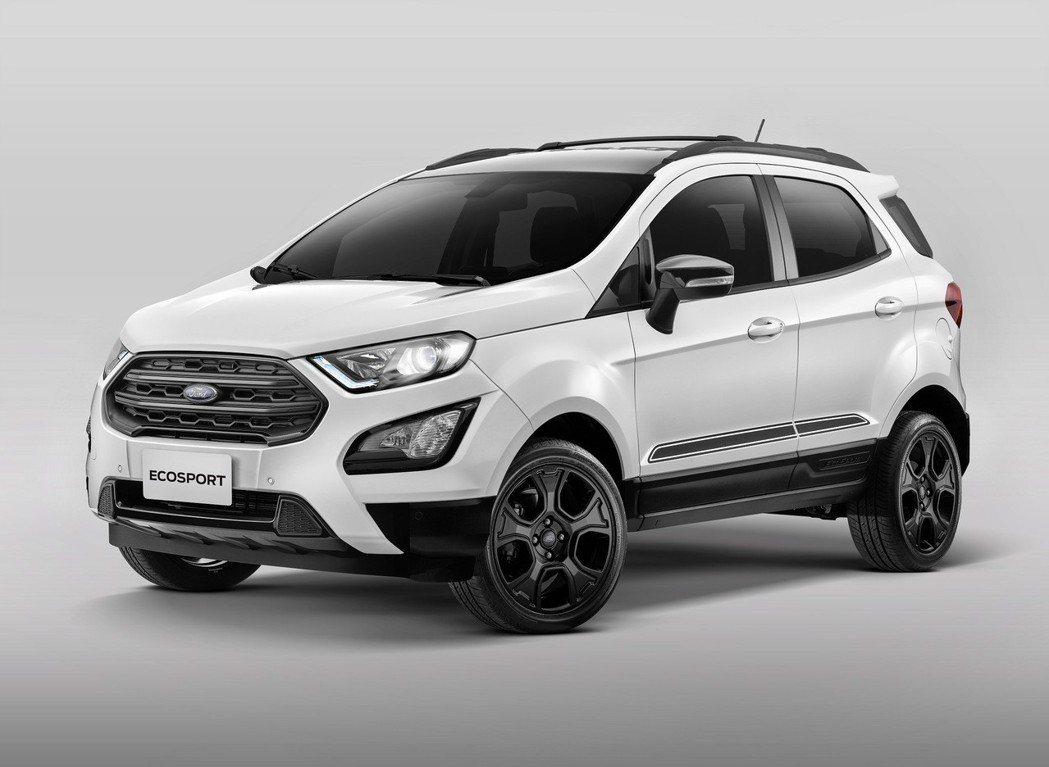 動勁智能輕休旅Ford EcoSport「布萊克•懷特」限量版。 圖/福特六和提...