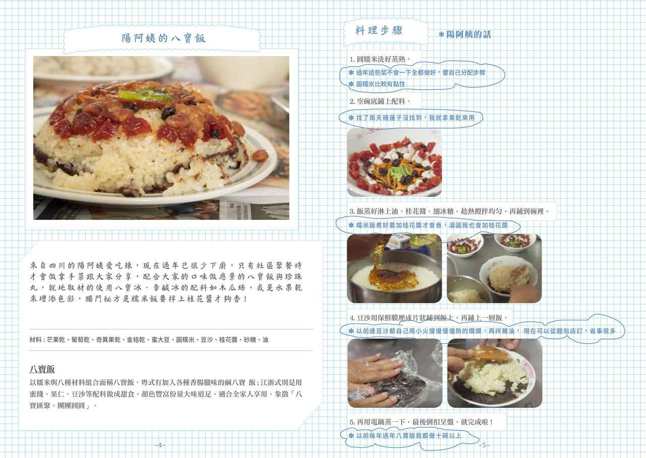 陽阿姨的八寶飯食譜