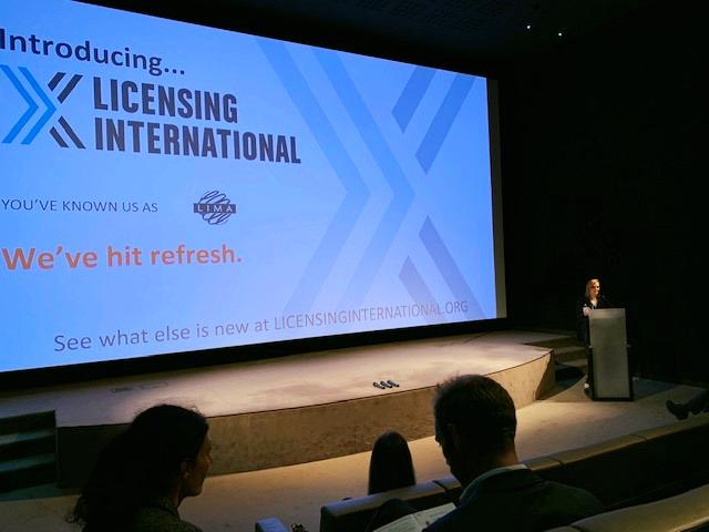國際授權業協會主席Maura Regan女士在巴黎首次分享更名,Licensin...