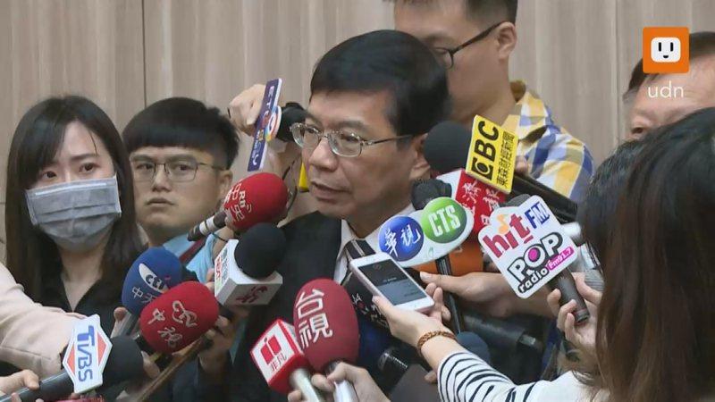 交通部政務次長確定救火擔任中華郵政代理董事長。記者謝育炘/攝影