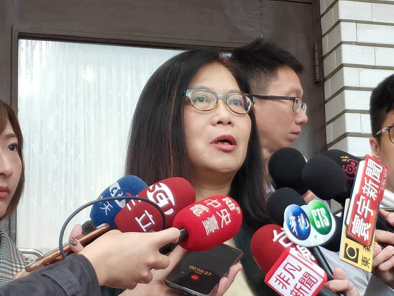民進黨團幹事長管碧玲。記者徐偉真/攝影