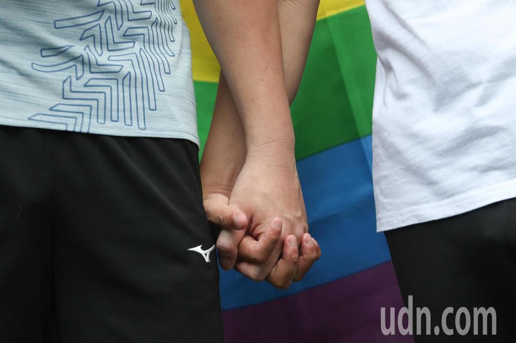 立法院今天處理同婚法案。記者葉信菉/攝影