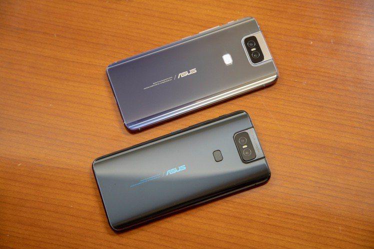 ASUS ZenFone 6預計推出星夜黑、霓幻銀2色。記者黃筱晴/攝影