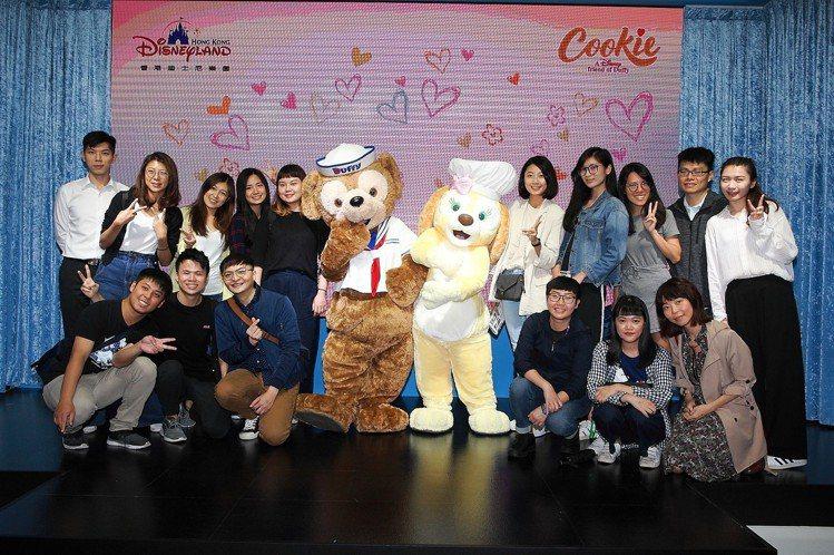 Cookie本次是首次在台亮相,吸引許多粉絲。記者陳睿中/攝影