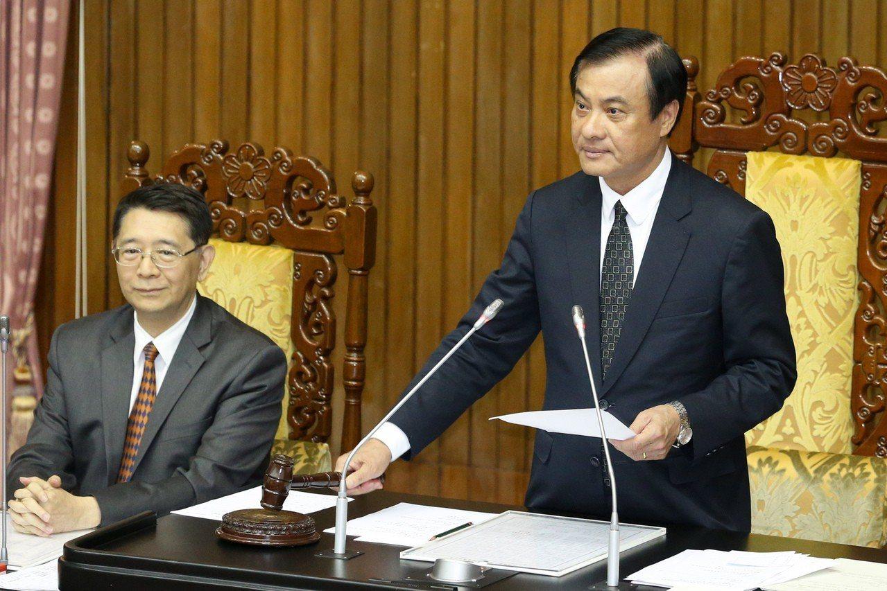 立法院長蘇嘉全。 聯合報系資料照/記者林伯東攝影