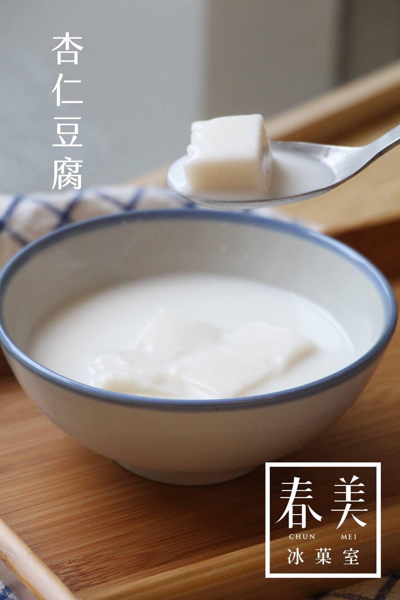 杏仁豆腐甜湯是限量品。圖/春美冰菓室 提供