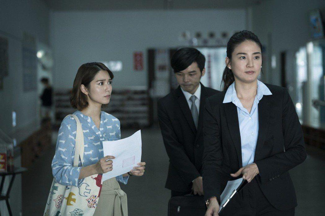 洪小鈴(右)、劉倩妏戲中有不少對手戲。圖/公視提供