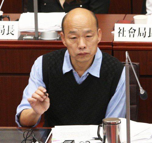 高雄市長韓國瑜日前表示,若國民黨徵詢將他納入初選民調,他會說:「Yes,I do...
