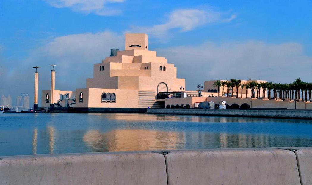卡達多哈伊斯蘭藝術博物館。 (歐新社)