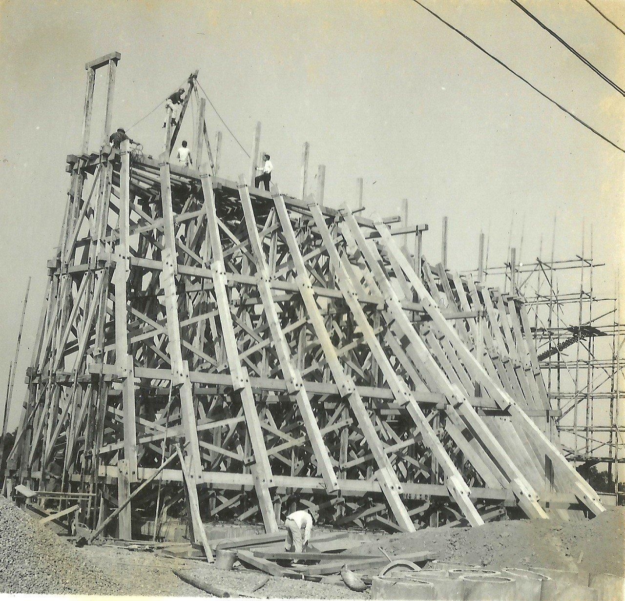 無柱、無樑、無牆的建築工法,是路思義教堂最大特色。 圖/東海大學提供