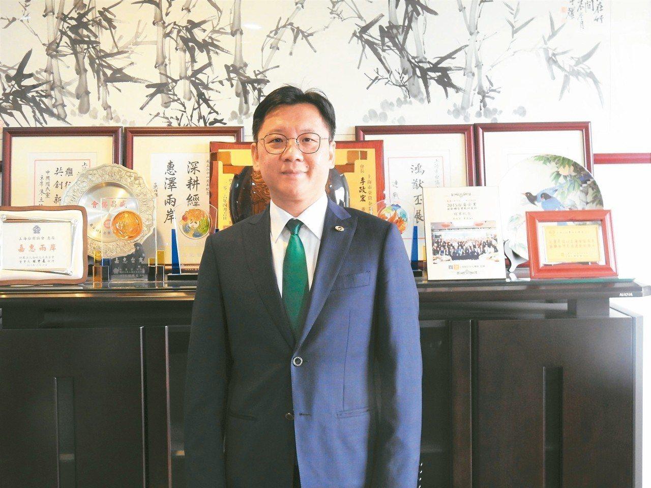 上海台協會長李政宏 特派記者林宸誼/攝影