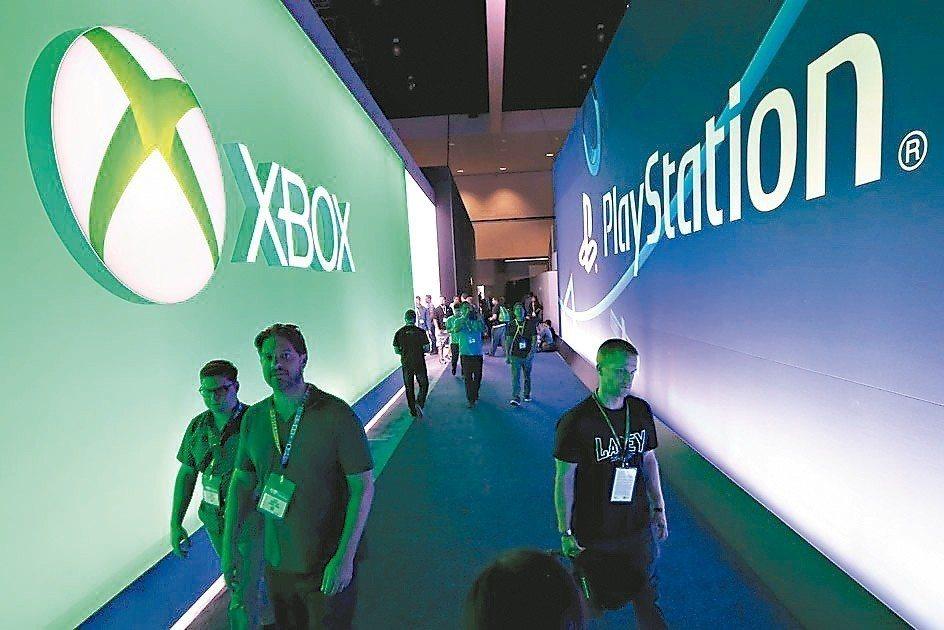 Sony與微軟電玩業兩大巨頭化敵為友,在雲端遊戲服務攜手合作。 路透