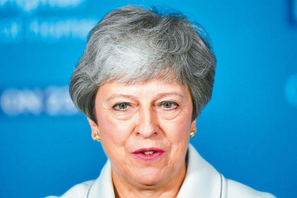 英國首相梅伊 (路透)