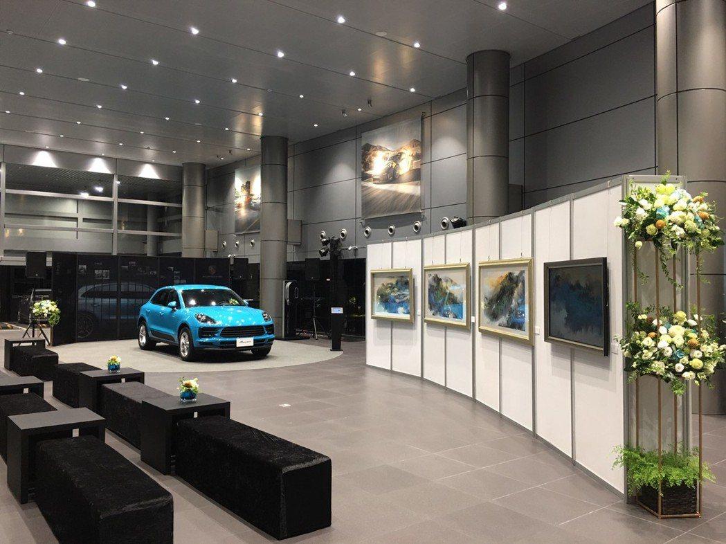 保時捷Porsche在Macan新車發表之際,攜手彩碁科技(PrintGoal)...