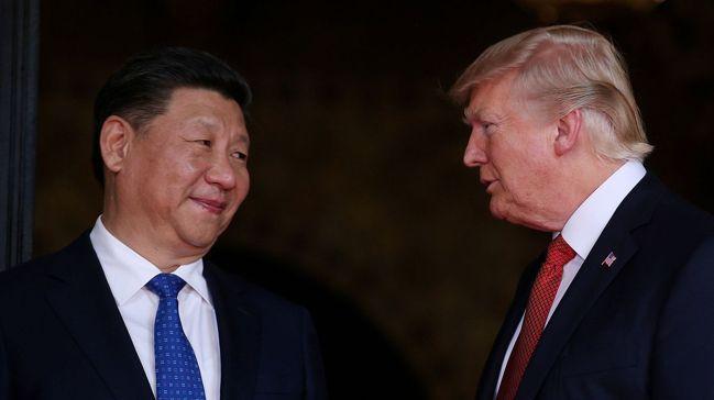 美中貿易戰緊張對峙升高,但北京目前為止的反應顯得相當自制。圖/路透