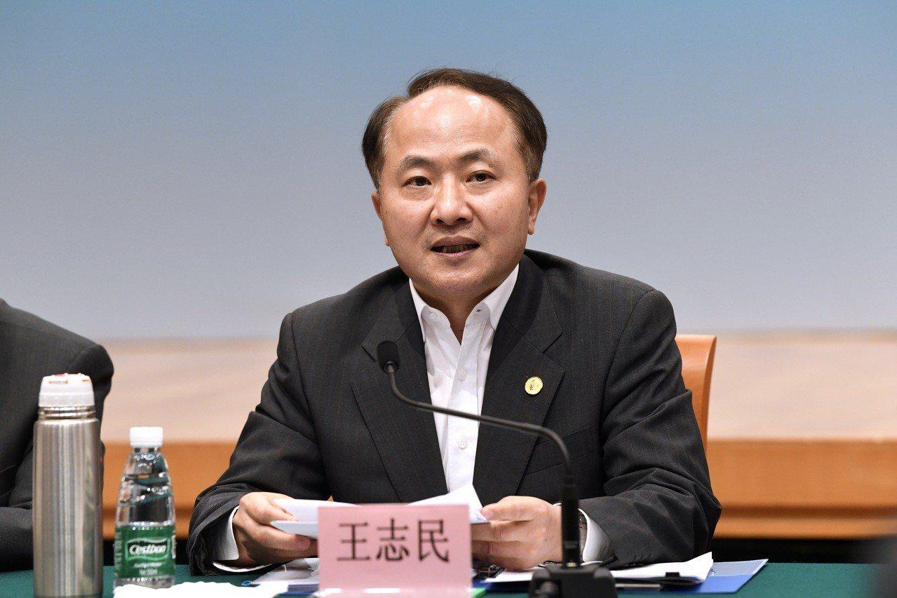 中聯辦主任王志民。 中國新聞社