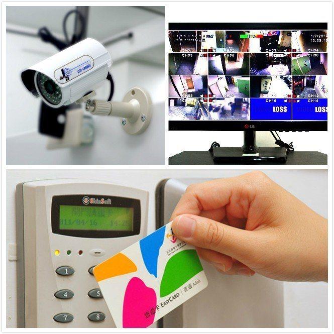 摩爾空間採用24小時智慧門禁及監視系統。 摩爾空間/提供