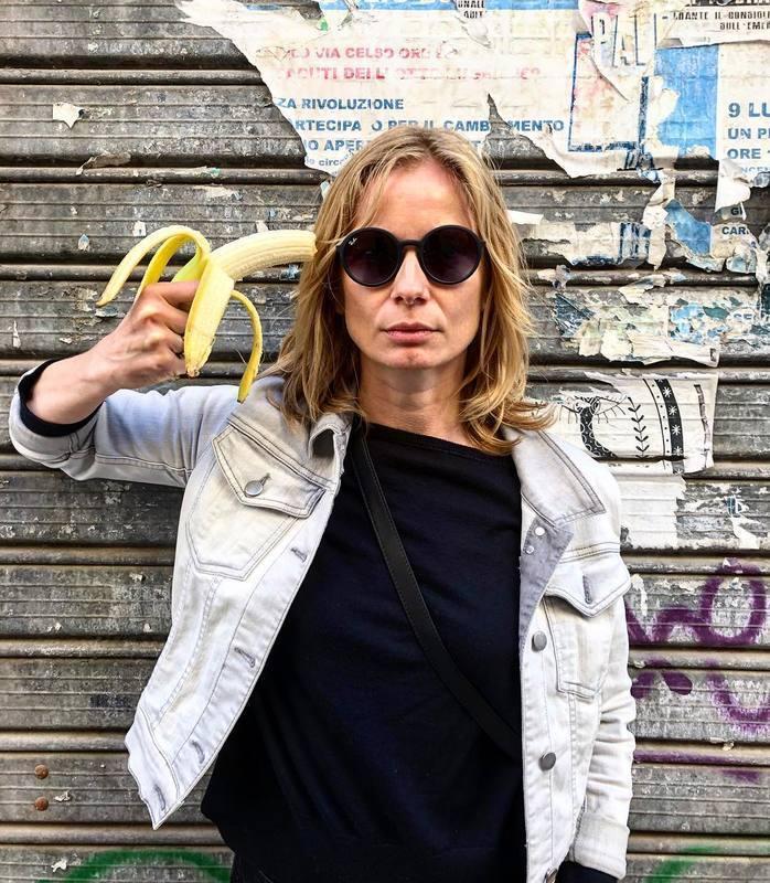 波蘭女演員Magdalena Cielecka。擷自 Magdalena Cie...