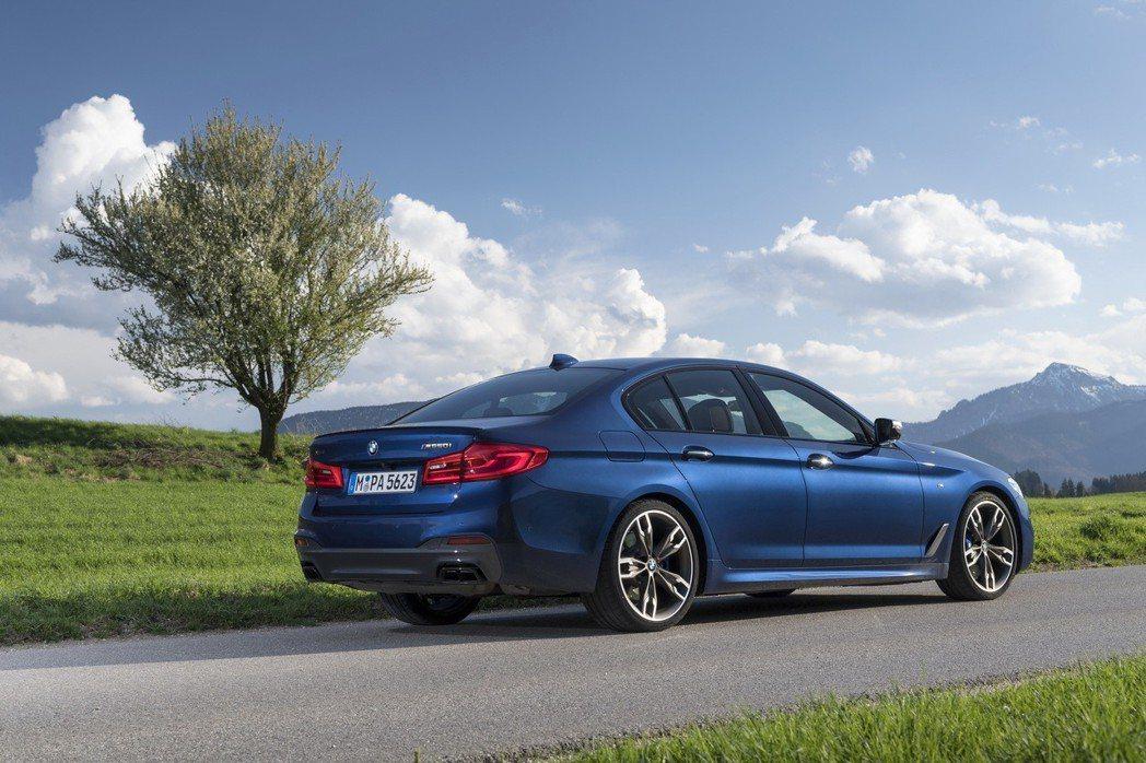 BMW M550i xDrive今年七月後,將搭載8 Series Coupe身...