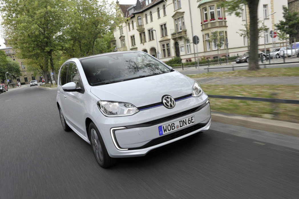 Volkswagen e-Up!。 摘自Volkswagen