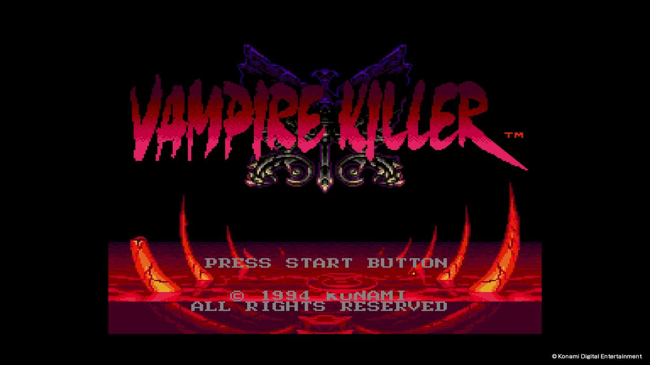 VAMPIRE KILLER