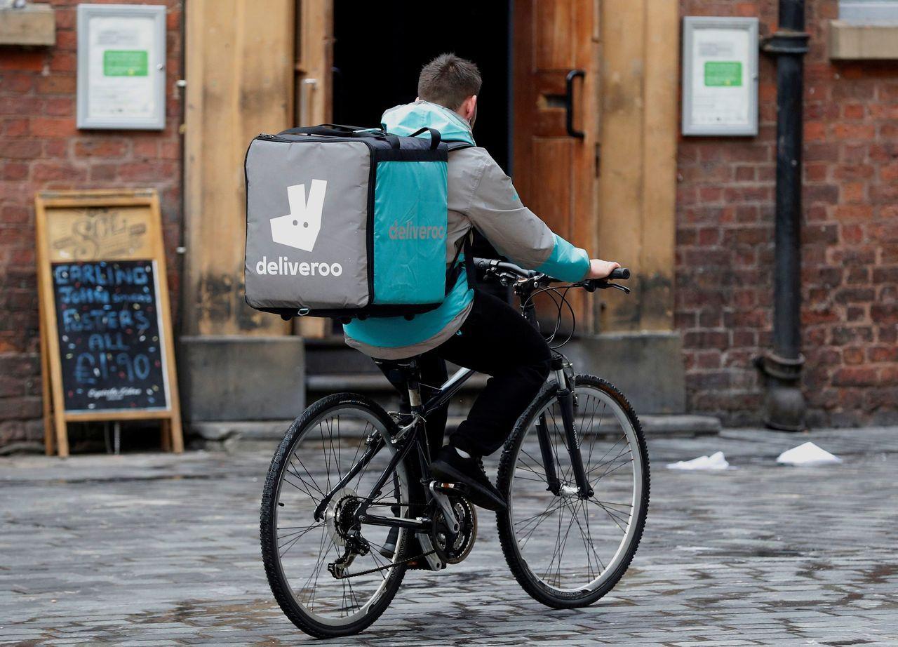 英國送餐新創公司Deliveroo獲電商巨人亞馬遜投資。路透