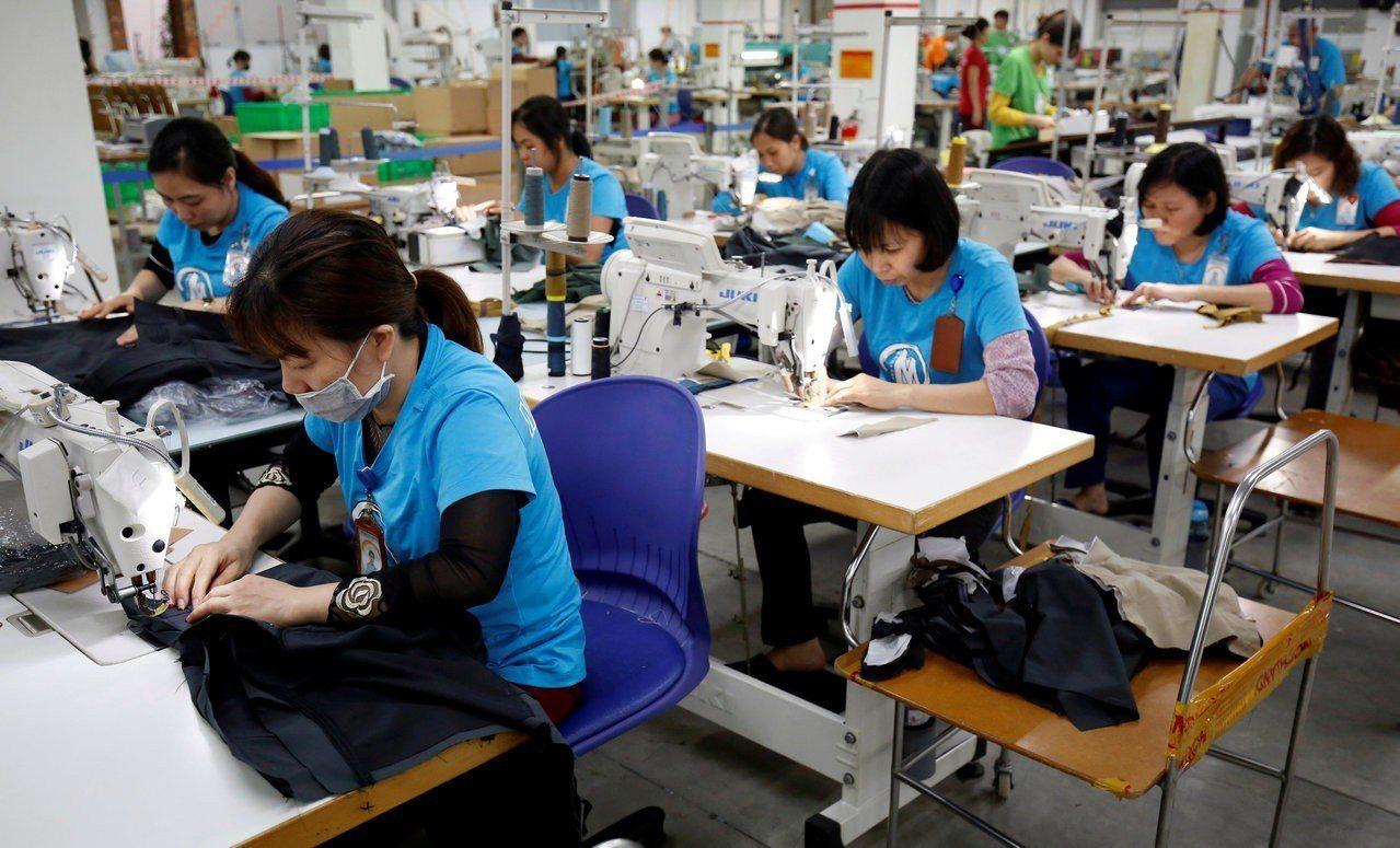 越南工廠。路透