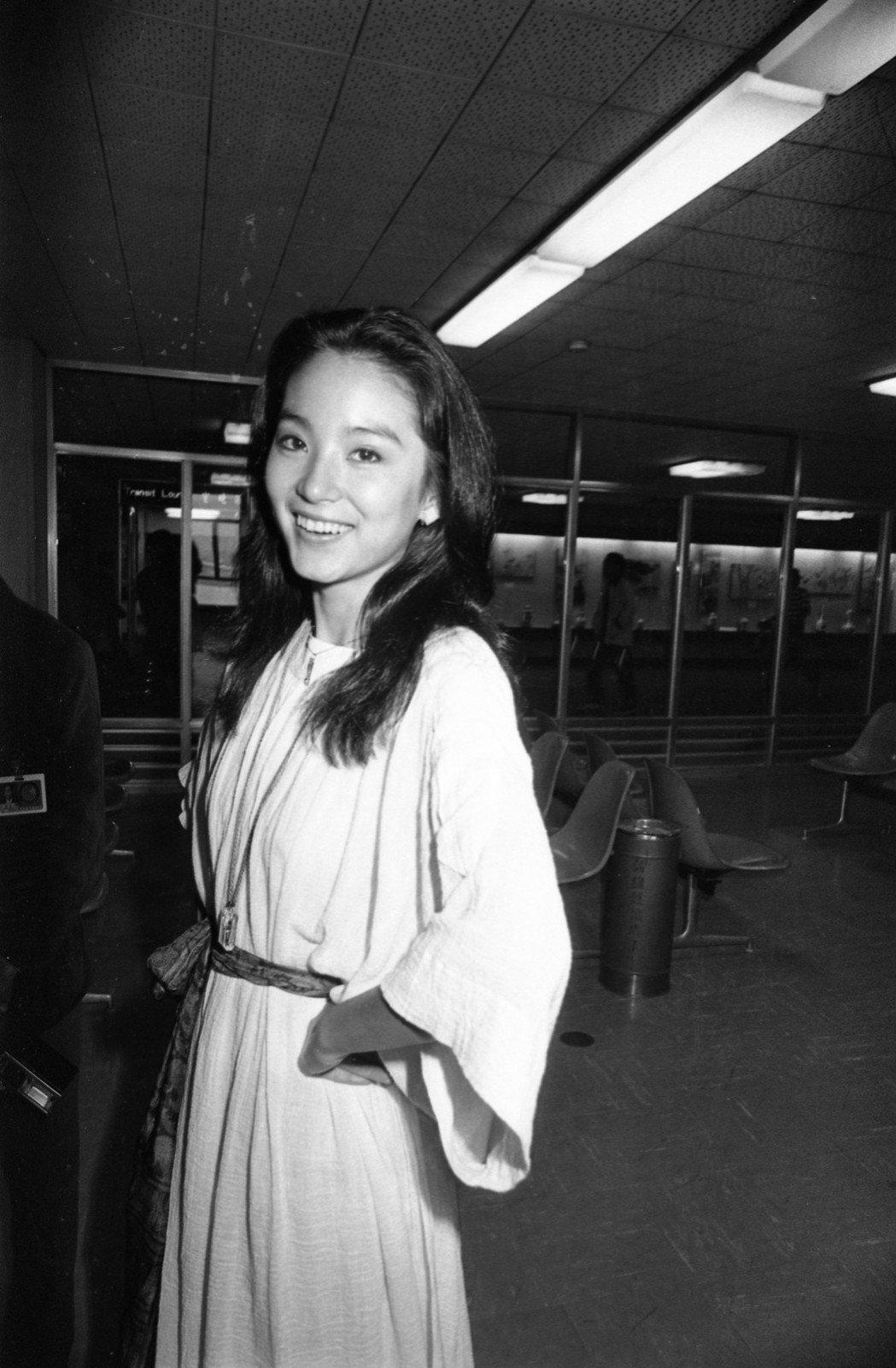 林青霞美麗飄逸,曾被列入「玫瑰的故事」女主角人選。圖/報系資料照片