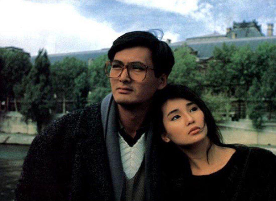 周潤發與張曼玉曾赴巴黎拍攝「玫瑰的故事」外景。圖/摘自imdb