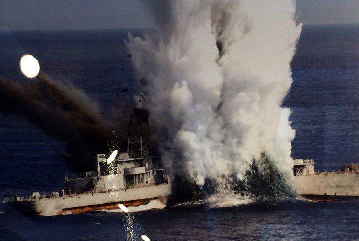 海軍256潛艦戰隊多年來總計實施過5次線導魚雷實彈射擊,至96年5月止計擊沉富陽...