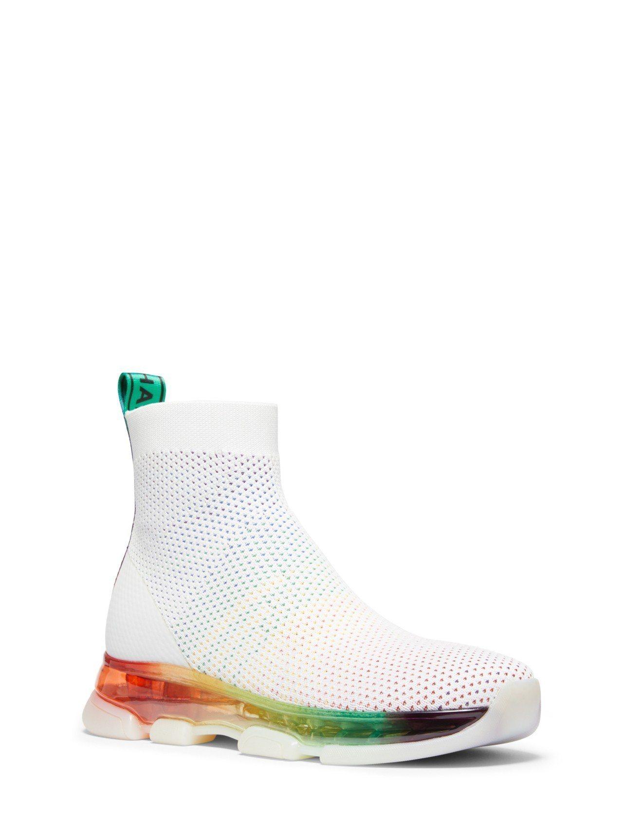 MMK彩紅氣墊襪靴,售價9,000元。圖/MICHAEL KORS提供